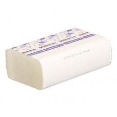 Рушник паперовий 2-шаровий целлюлозний Comfort eco білі ZZ 200 арк 21.6*24см PRO (ВУЗЬКІ) 20шт/ящ
