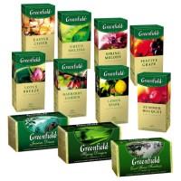 Чай чорний Гринфилд 25пакетов меліса